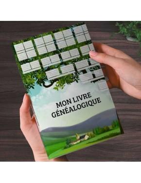 """Geneative """"Mon livre généalogique"""""""