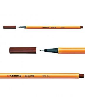 Stabilo Point 88 (marron)