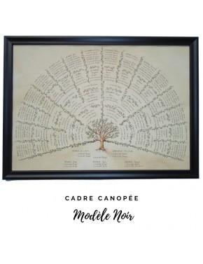 """Encadrement Canopée - modèle """"Noir"""""""