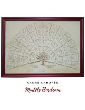 """Encadrement Canopée - modèle """"Bordeaux"""""""